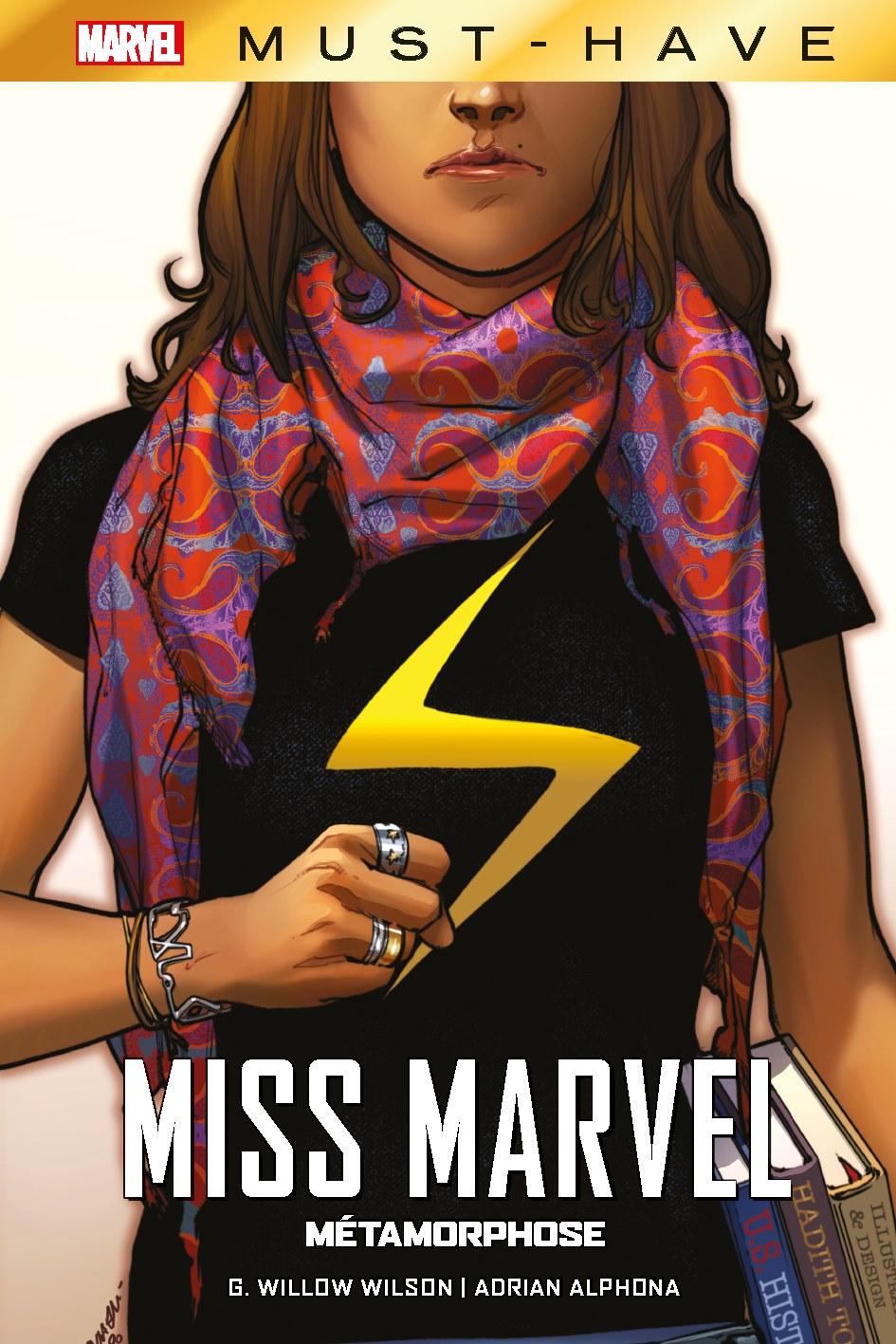 MISS MARVEL : MÉTAMORPHOSE (MUST-HAVE)