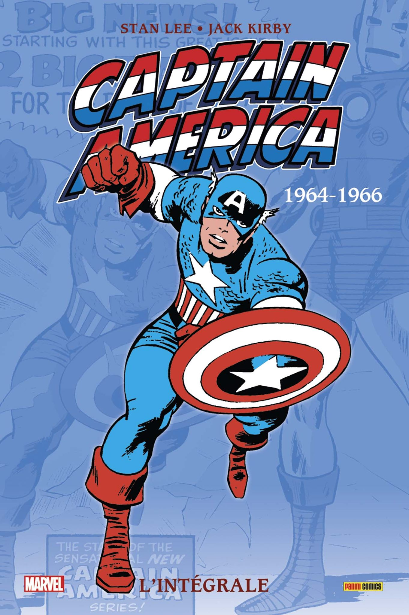 CAPTAIN AMERICA : L'INTÉGRALE 1964-1966 (NOUVELLE ÉDITION)