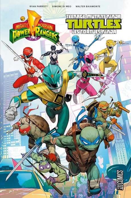 Power Rangers & Tortues Ninja T1