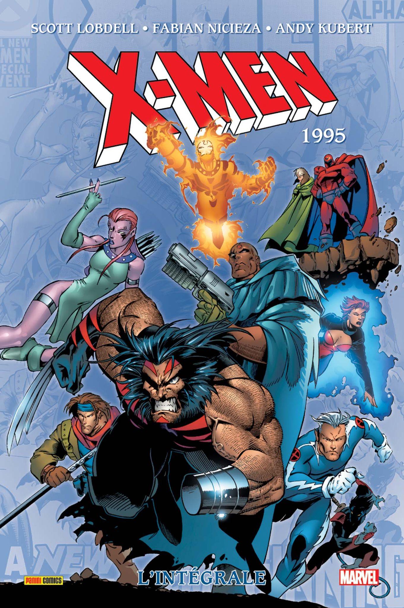 X-MEN : L'INTÉGRALE 1995