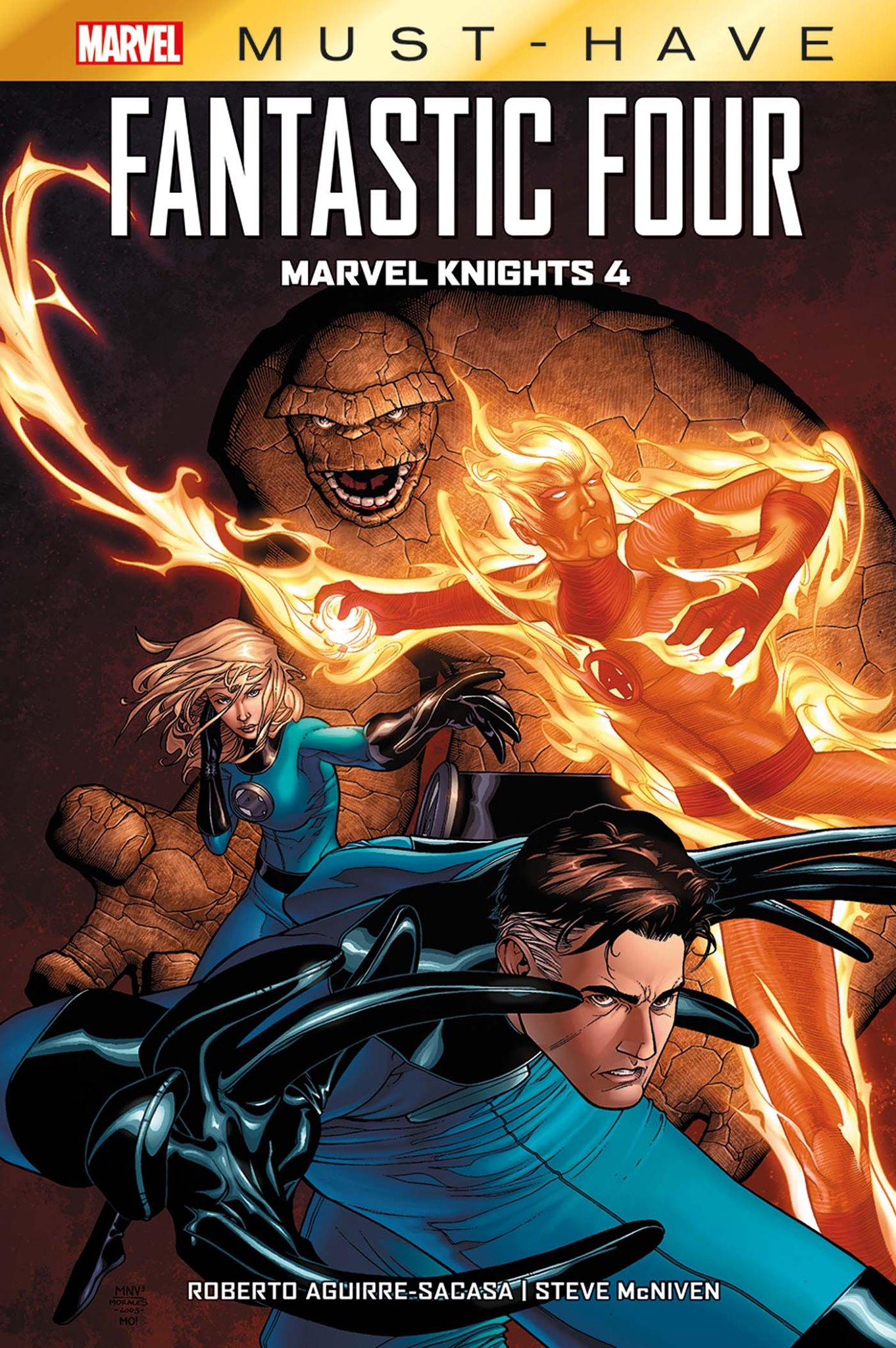 FANTASTIC FOUR : MARVEL KNIGHTS 4 (MUST-HAVE)