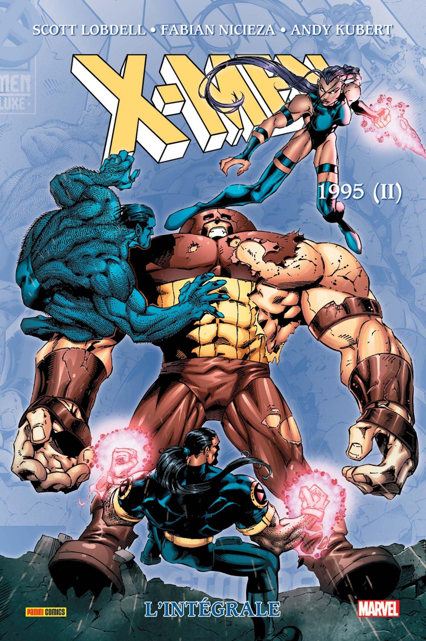 X-MEN : L'INTÉGRALE 1995 (II)