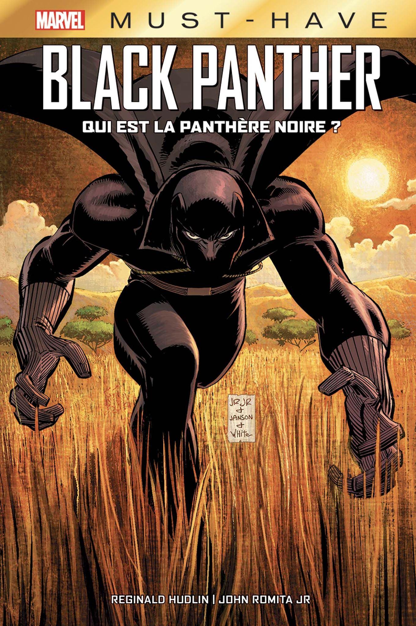 BLACK PANTHER : QUI EST LA PANTHÈRE NOIRE ? (MUST-HAVE)