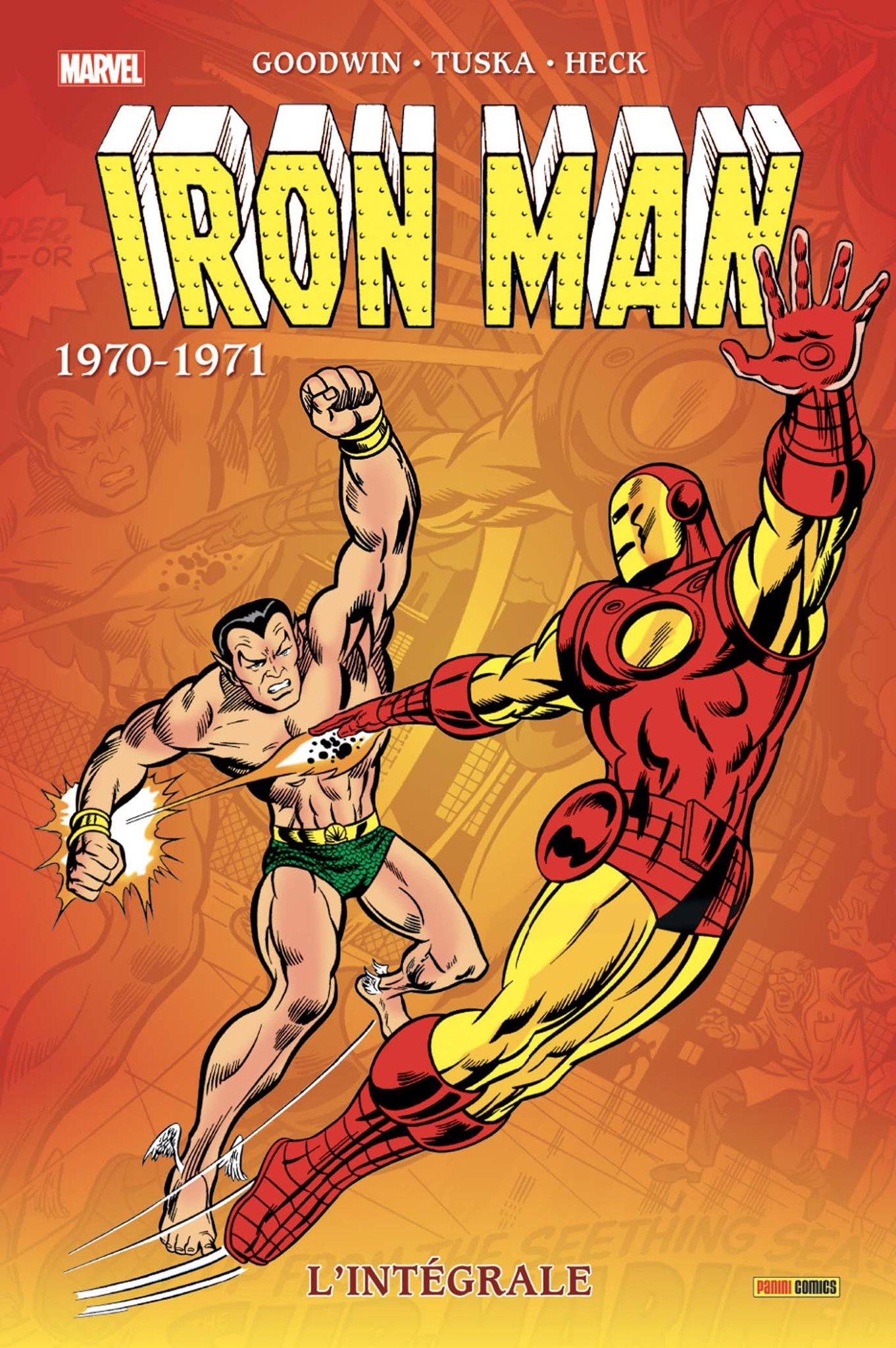 IRON MAN : L'INTÉGRALE 1970-1971 (nelle édition)