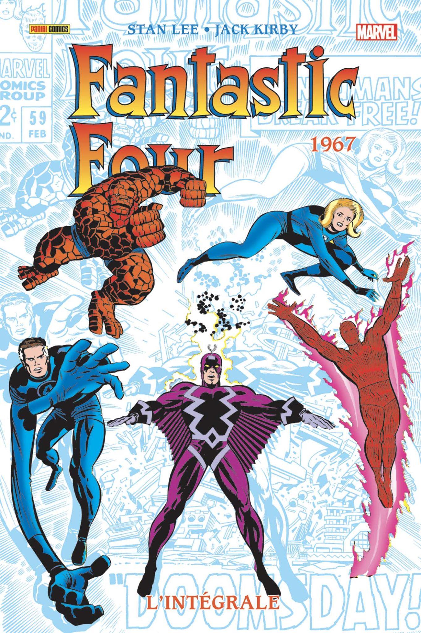 FANTASTIC FOUR : L'INTÉGRALE 1967 (Nelle édition)