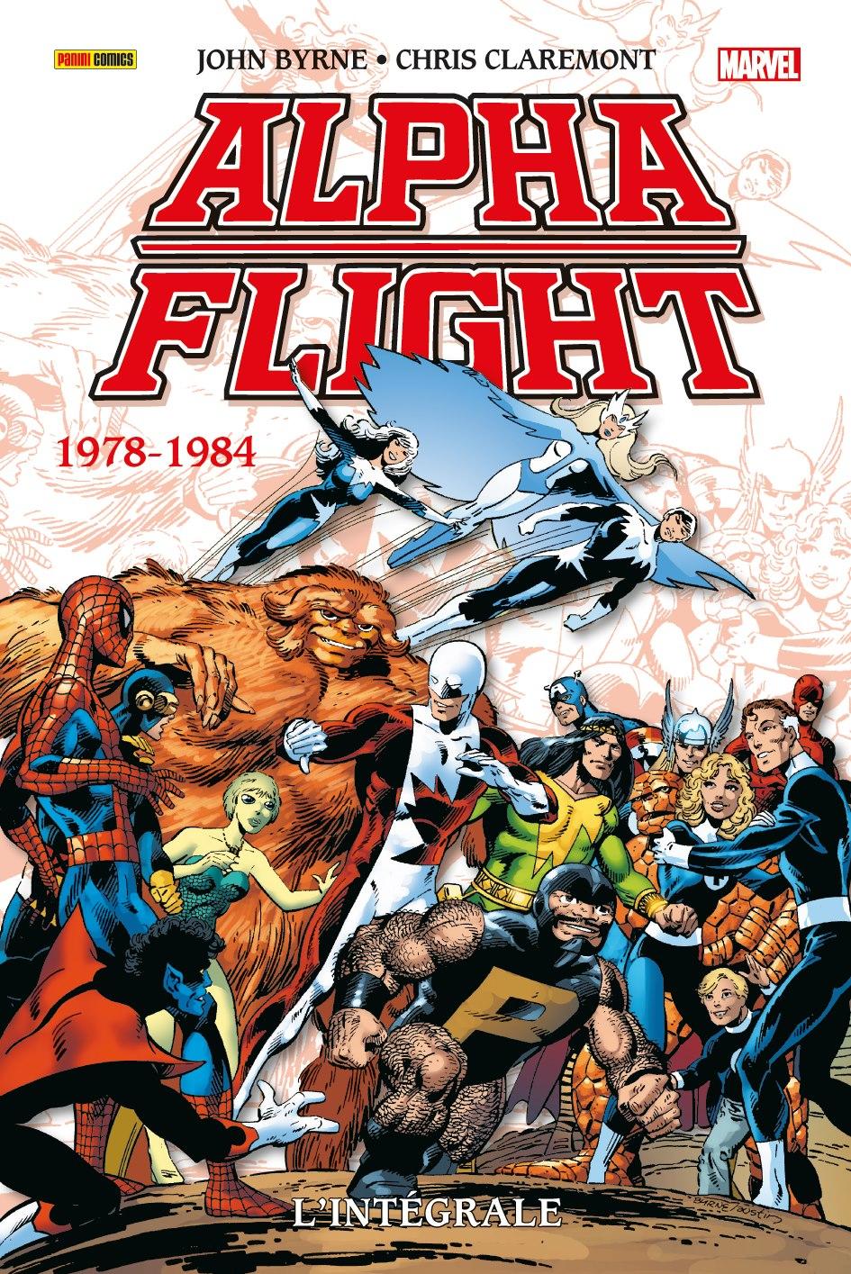 ALPHA FLIGHT : L'INTÉGRALE 1978-1984