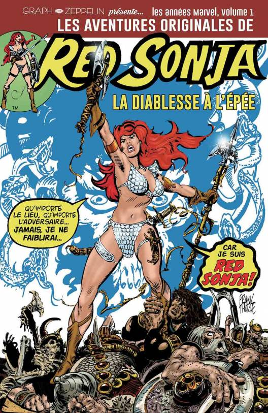 Les aventures originales de Red Sonja