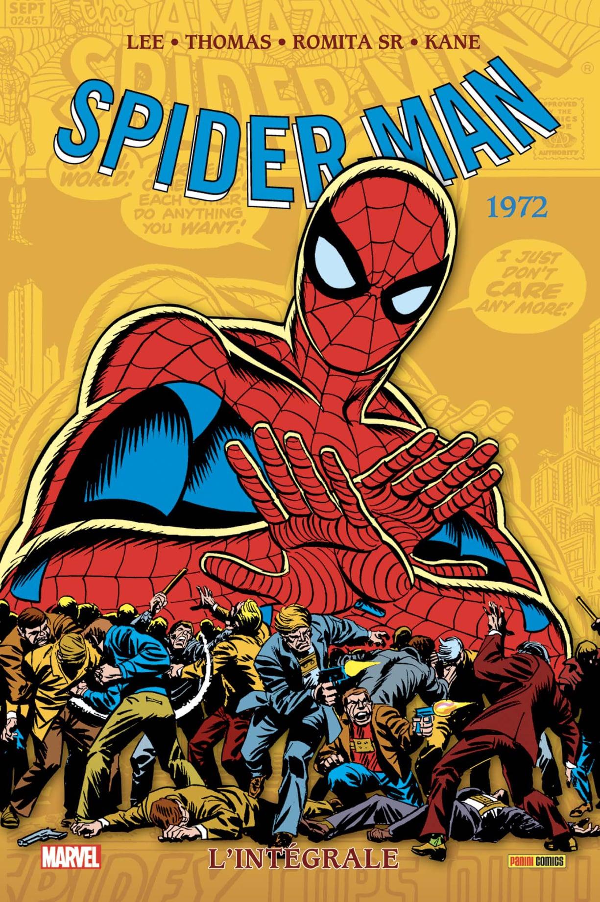 SPIDER-MAN : L'INTÉGRALE 1972 (Nouvelle édition)