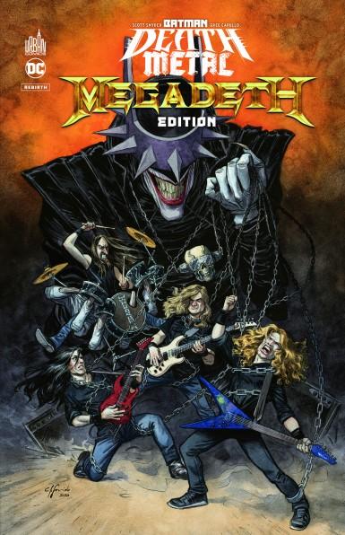 Batman Death Metal #1 Megadeth Edition