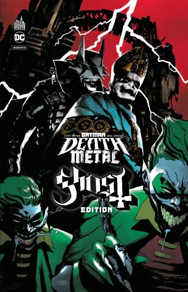 Batman Death Metal #2 Ghost Edition