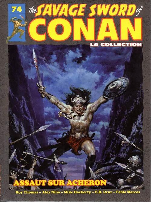 The Savage Sword Of Conan 74 - Assaut sur Acheron
