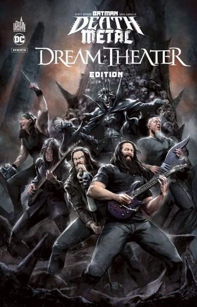 Batman Death Metal #6 Dream Theater Edition