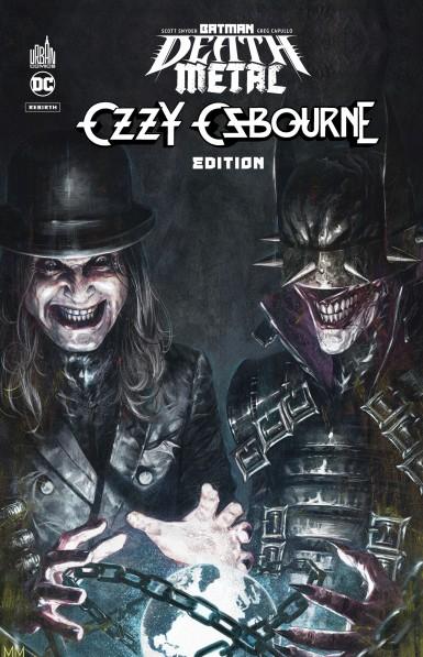 Batman Death Metal #7 Ozzy Osbourne Edition