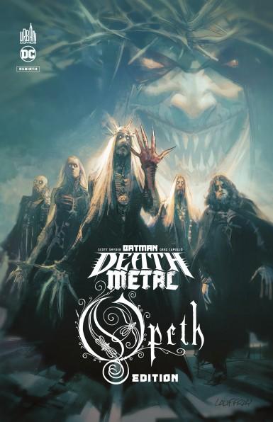 Batman Death Metal #4 Opeth Edition