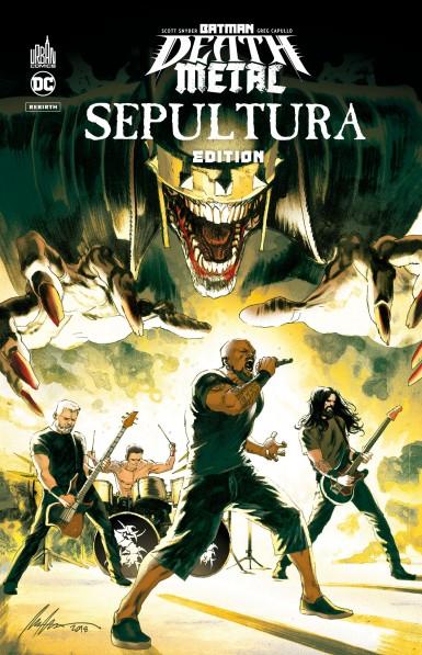 Batman Death Metal #5 Sepultura Edition
