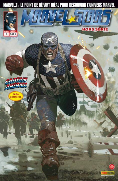 Marvel Stars Hors Série 2 : Captain America
