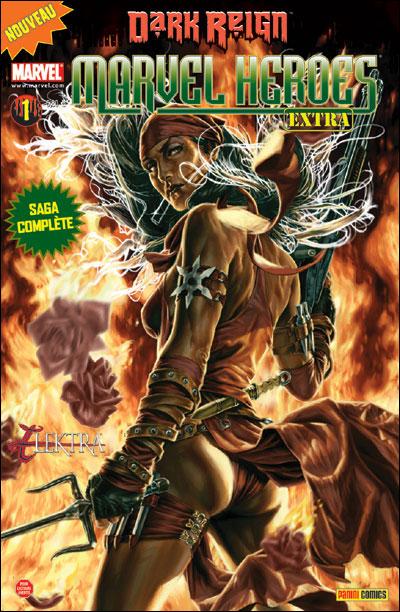 MARVEL HEROES EXTRA 1 : Dark Reign - Elektra