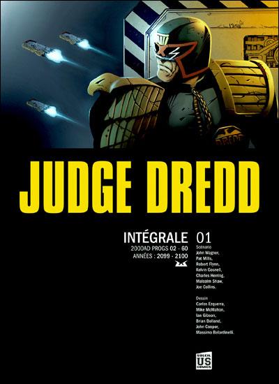 Judge Dredd Intégrale 1