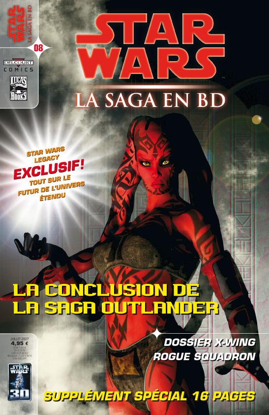 La Saga en BD - 08