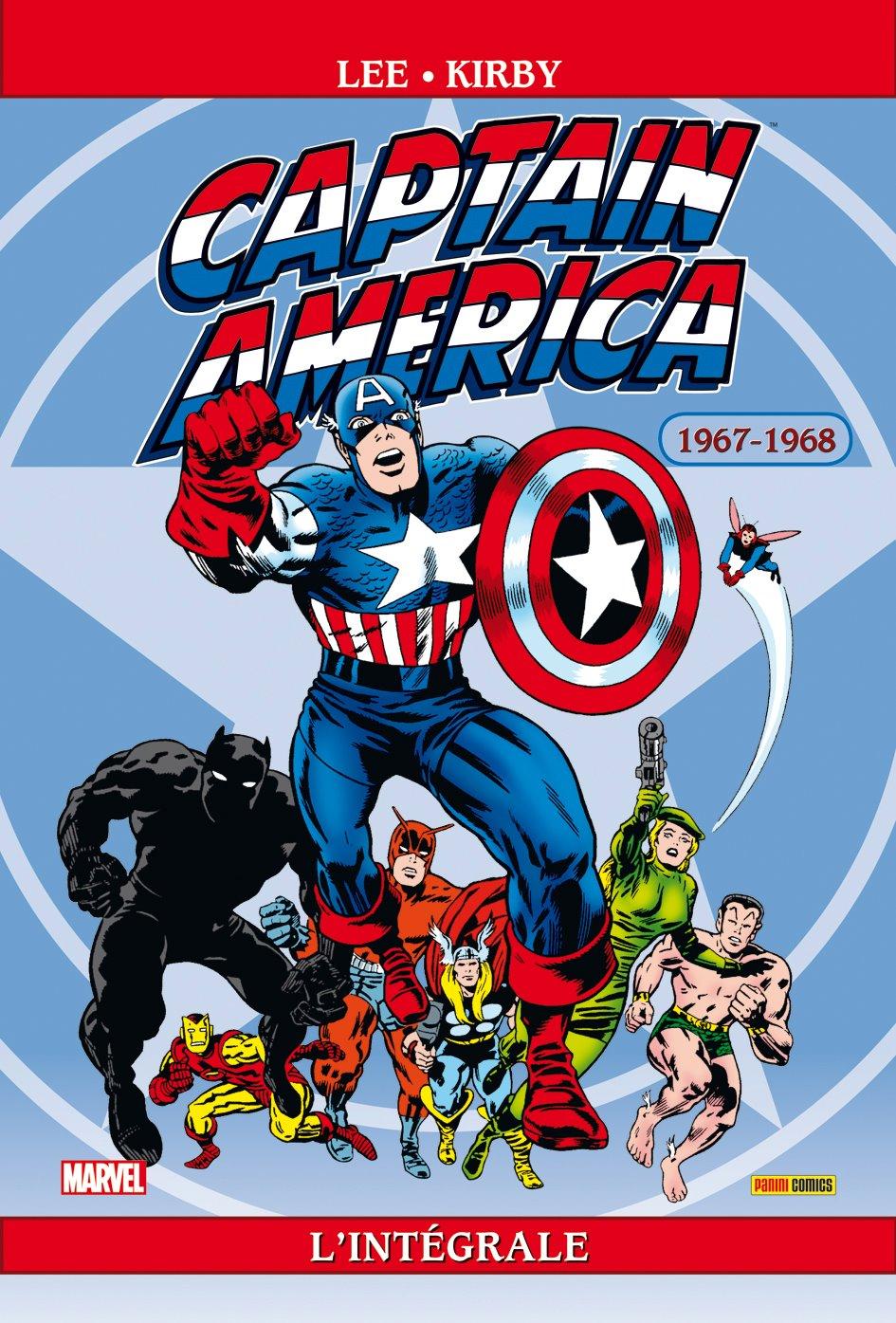 Captain America Intégrale 1967-1968