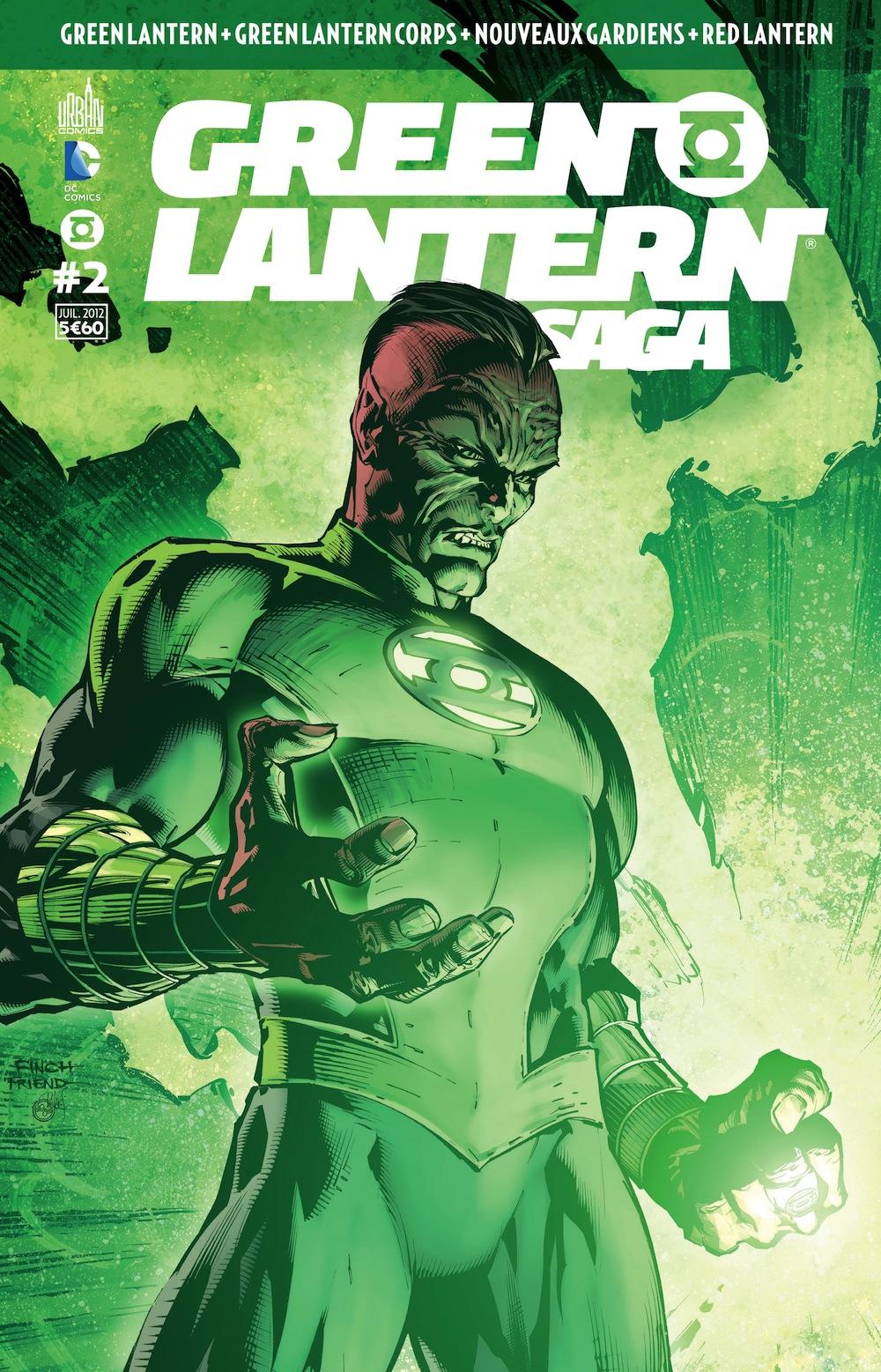Green Lantern Saga #2