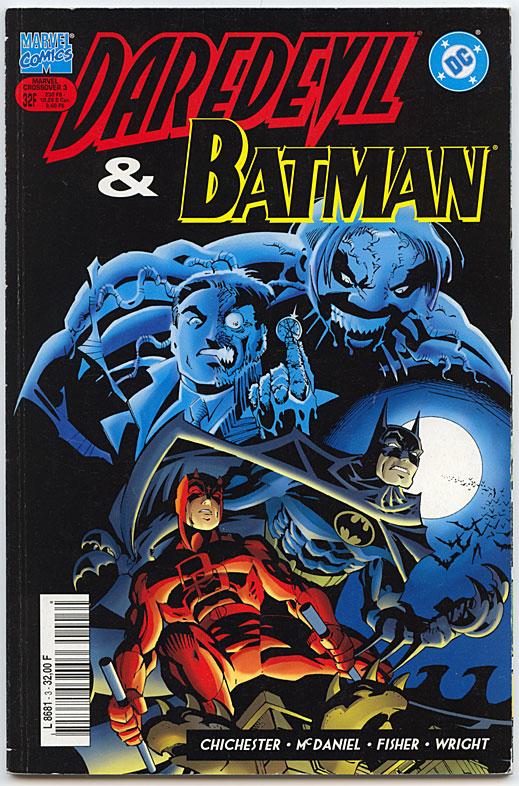 Daredevil/Batman - Silver Surfer/Superman