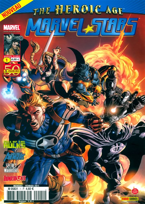 Marvel Stars 01