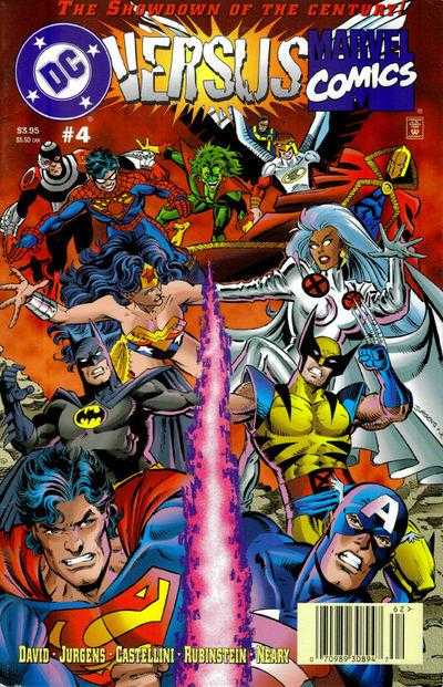 DC versus Marvel 9