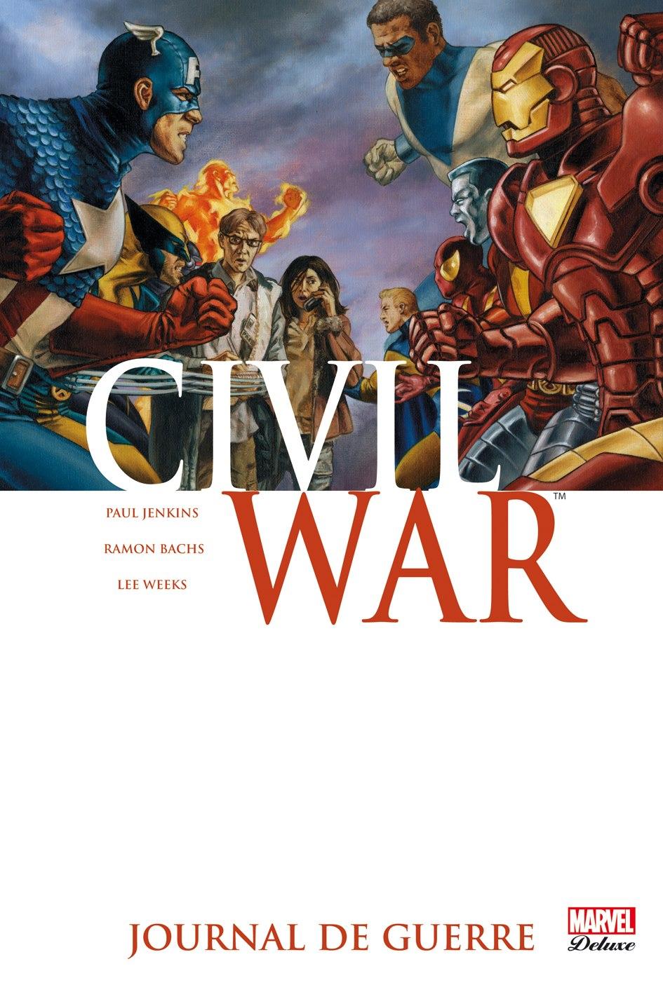 CIVIL WAR 4 : JOURNAL DE GUERRE