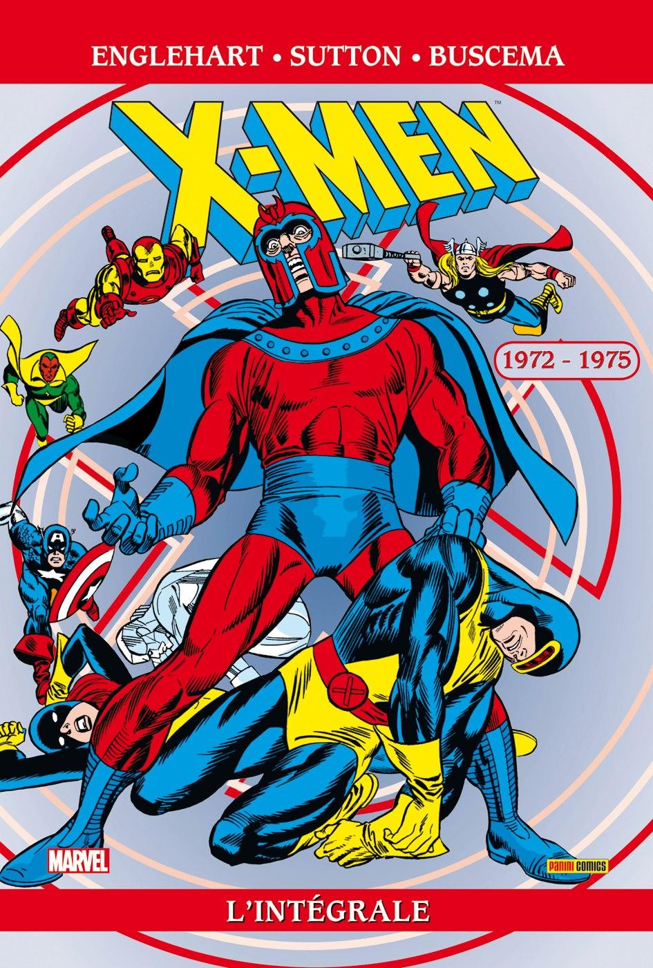 X-MEN : L'INTÉGRALE 1972-1975