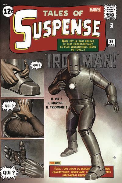Iron Man l'Intégrale 1963-1964 (réédition)
