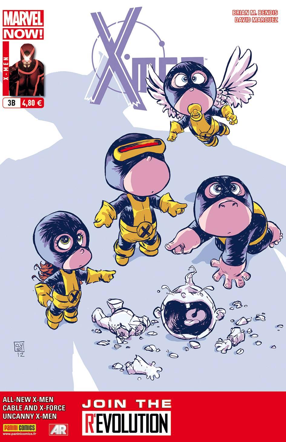 X-MEN 3 (couv B)