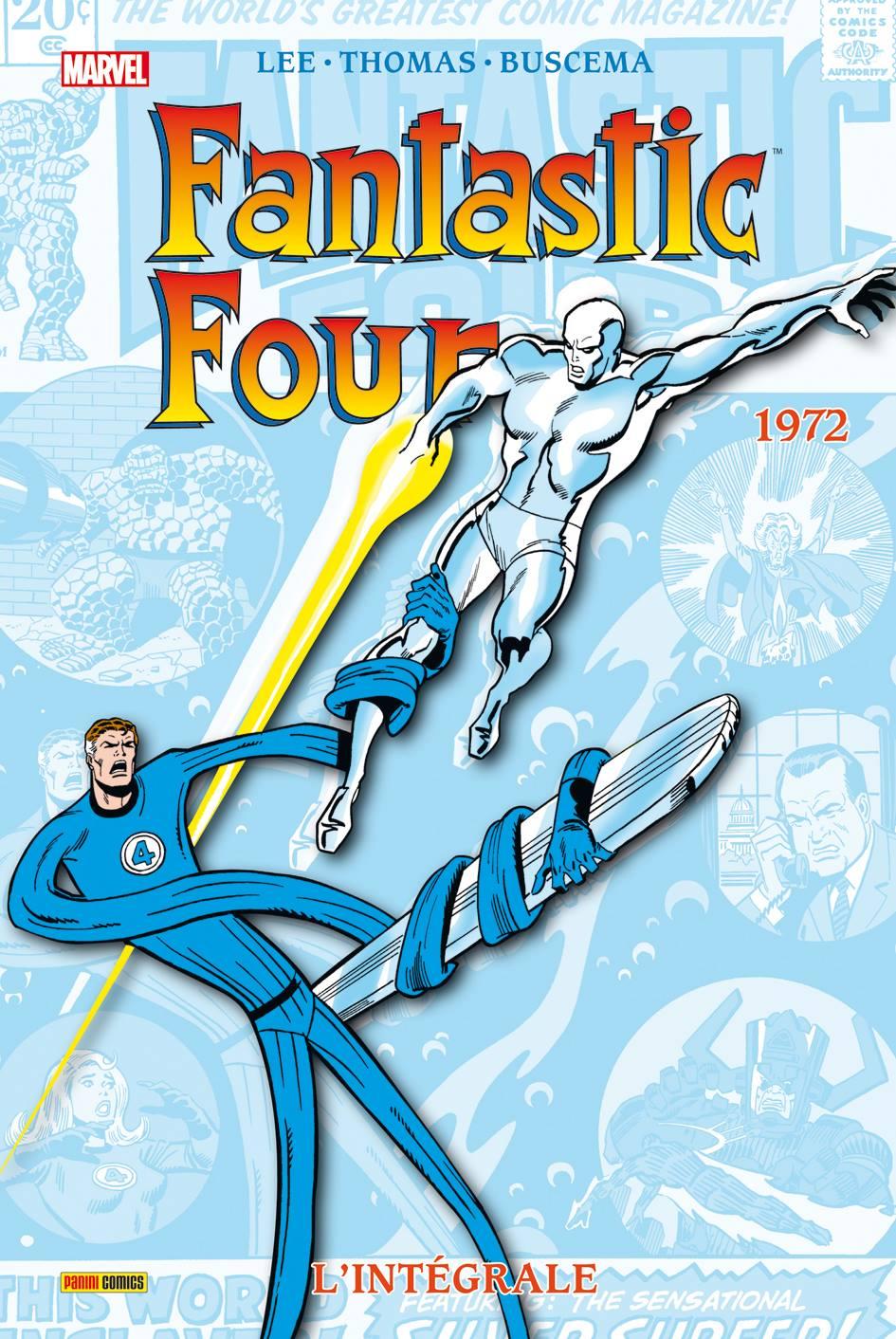 4 Fantastiques L'intégrale 1972