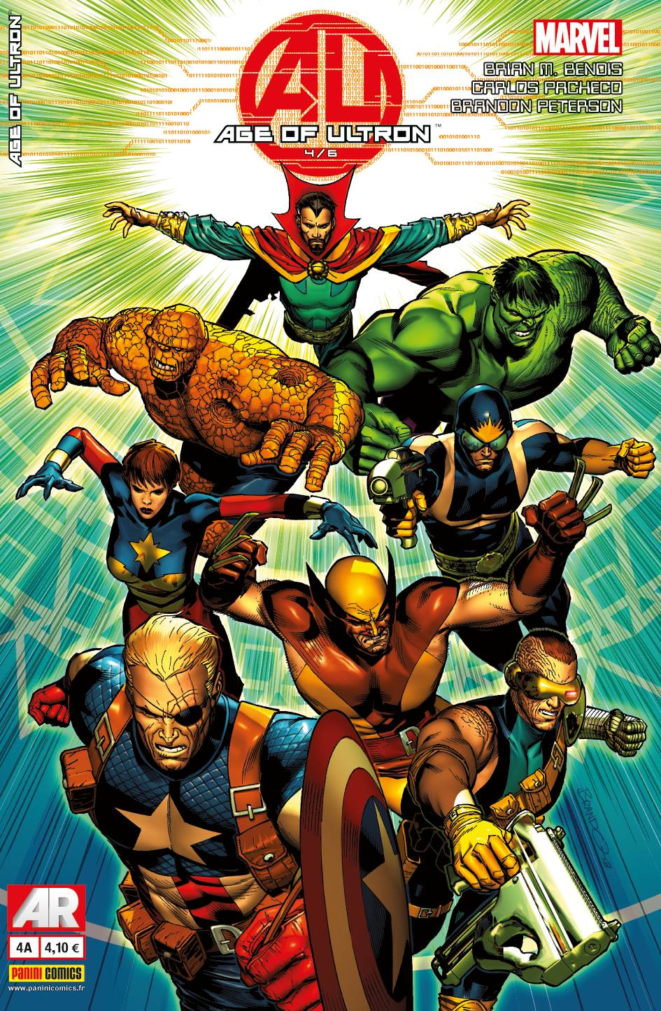 AGE OF ULTRON 4 (Couv A)