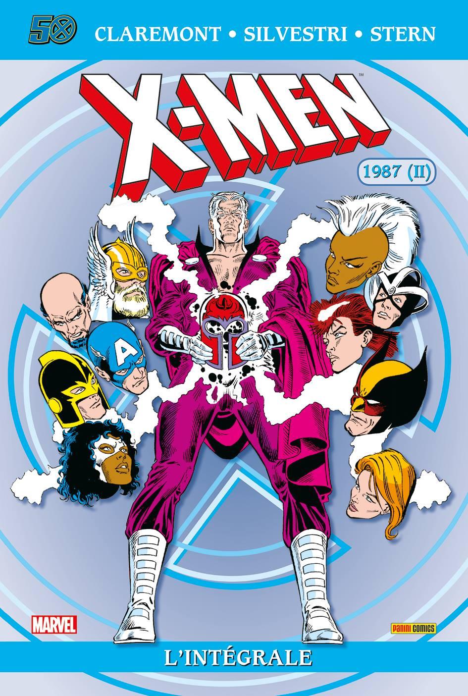 X-MEN : L'INTÉGRALE 1987(II) (RÉÉDITION)