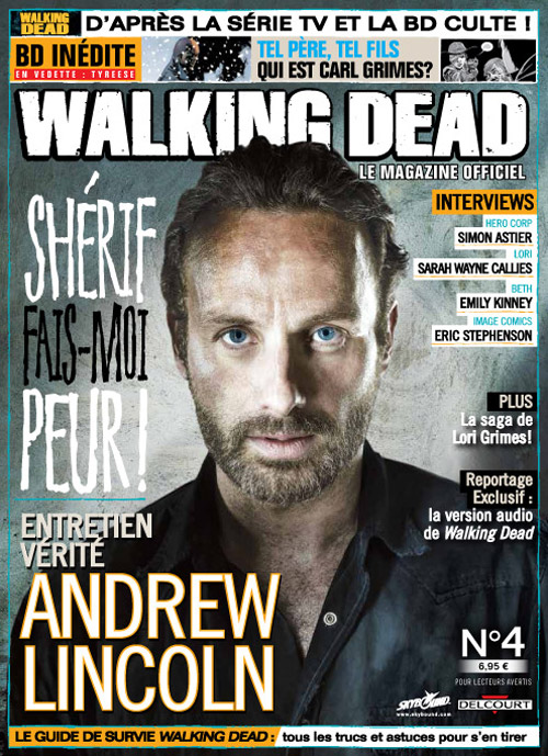 Walking Dead magazine 4A