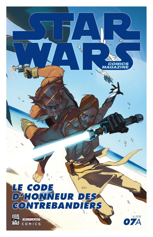 Star Wars Comics Magazine #7A