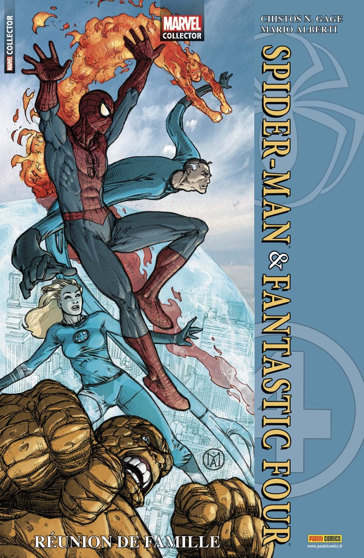 MARVEL COLLECTOR 1 : SPIDER-MAN & FANTASTIC FOUR