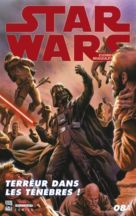 Star Wars Comics Magazine #8A