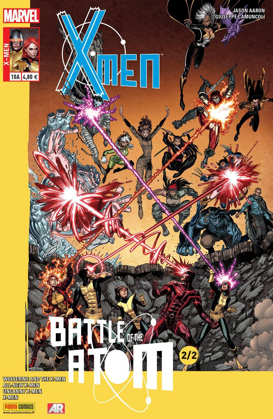X-MEN 10 : LA BATAILLE DE L'ATOME 2/2 (Couv A)