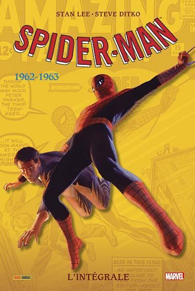 SPIDER-MAN : L'INTÉGRALE 1962-1963 (NOUVELLE ÉDITION - COUVERTURE MÉTALLISÉE)