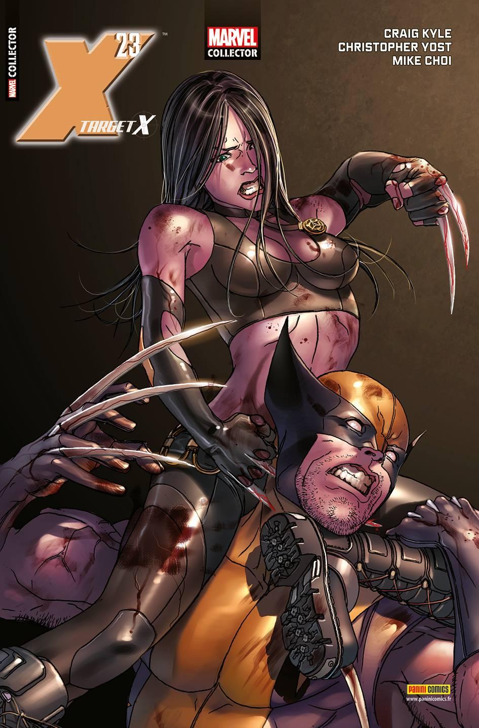 MARVEL COLLECTOR 3 : X-23 - TARGET X