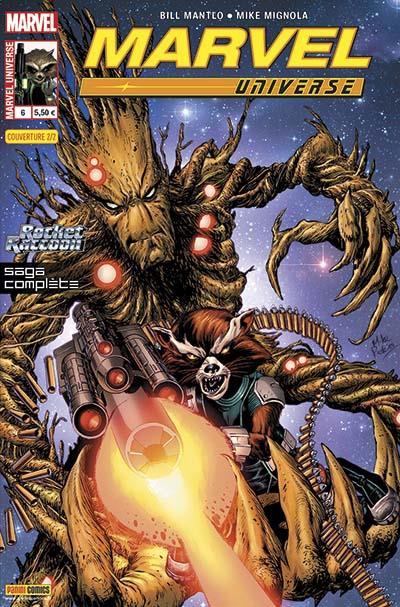 MARVEL UNIVERSE 6 : ROCKET RACCOON (Couv 2/2)