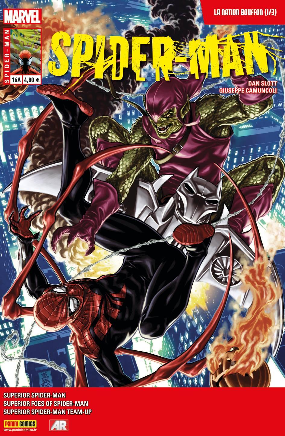 SPIDER-MAN 16 : LA NATION BOUFFON 1 (sur 3) (Couv A)