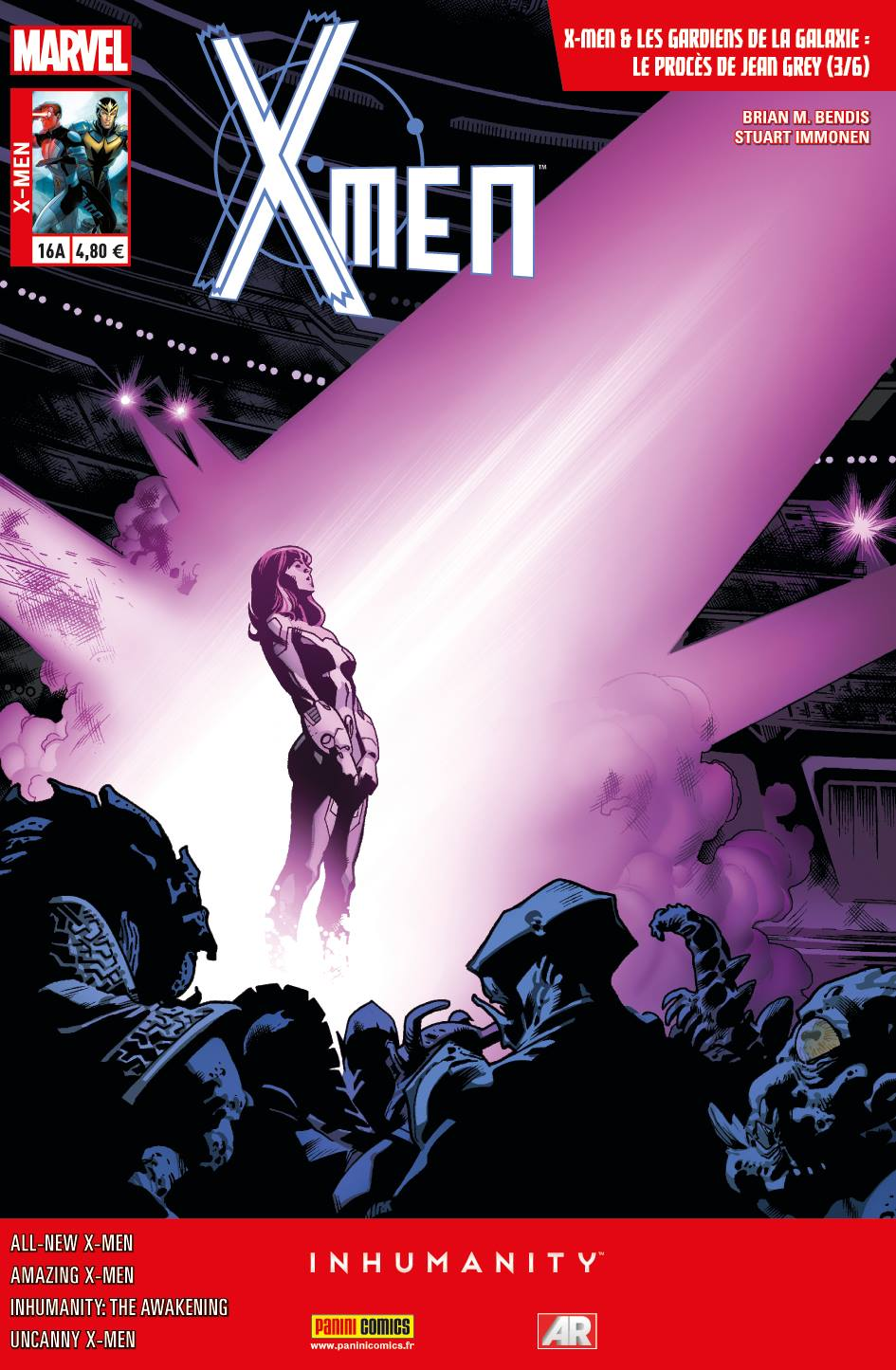 X-MEN 16 : LE PROCÈS DE JEAN GREY 3 (sur 6) (Couv A)