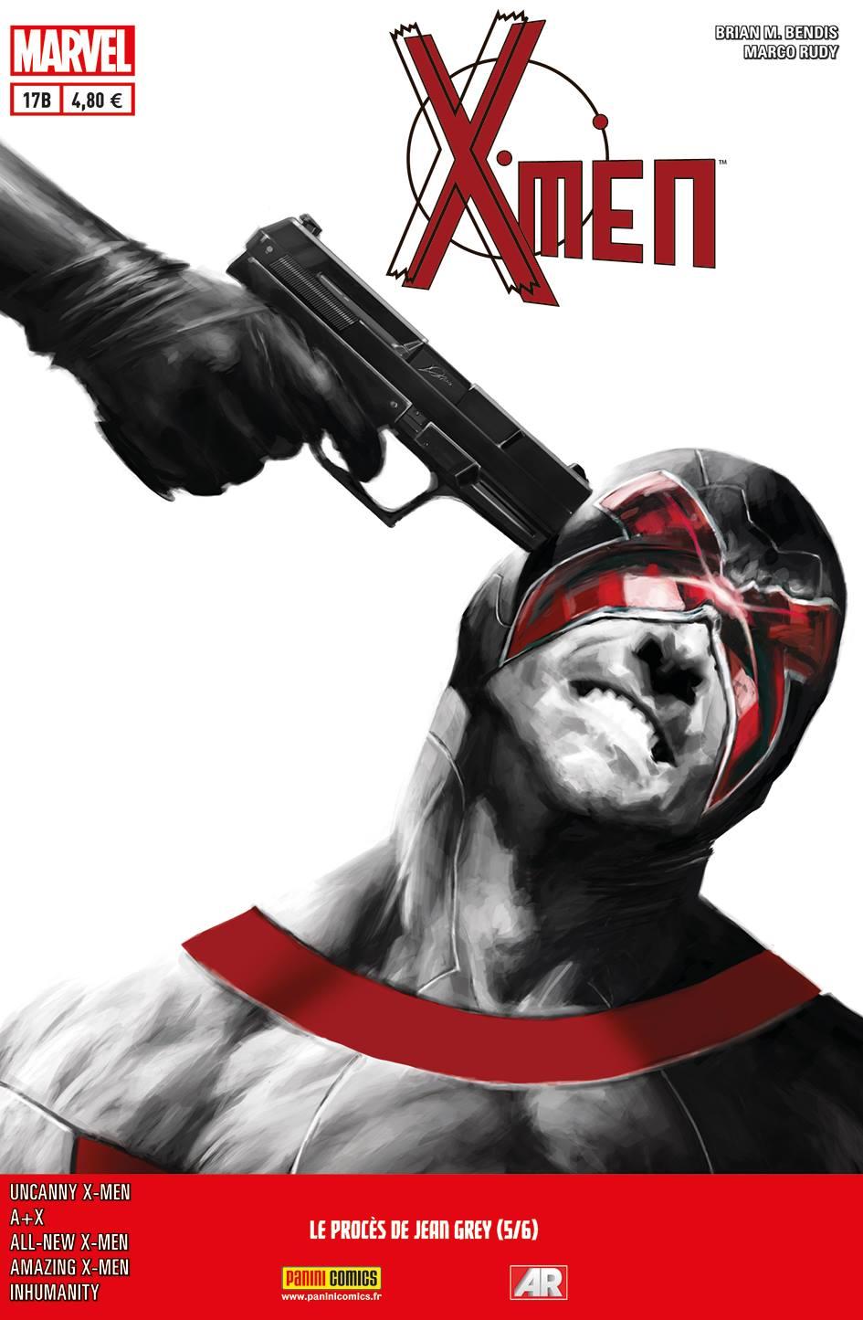 X-MEN 17 : LE PROCÈS DE JEAN GREY 5 (sur 6) (Couv B)
