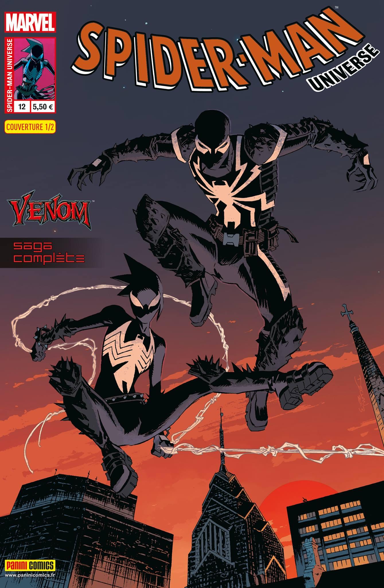 SPIDER-MAN UNIVERSE 12 : VENOM (Couv 1/2)
