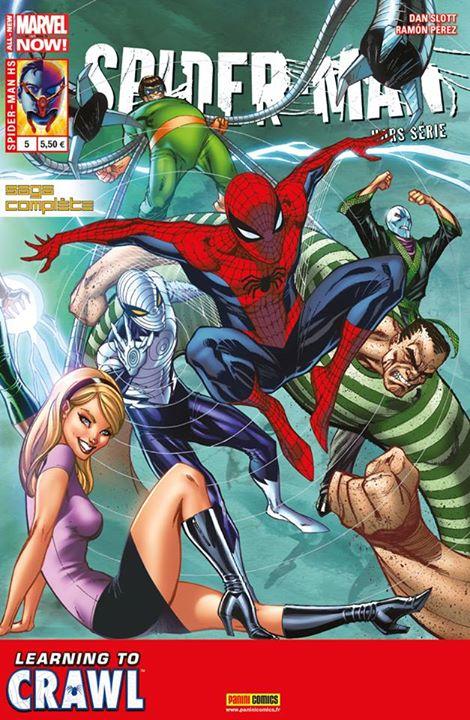 SPIDER-MAN HORS SÉRIE 5 : DEVENIR UN HOMME