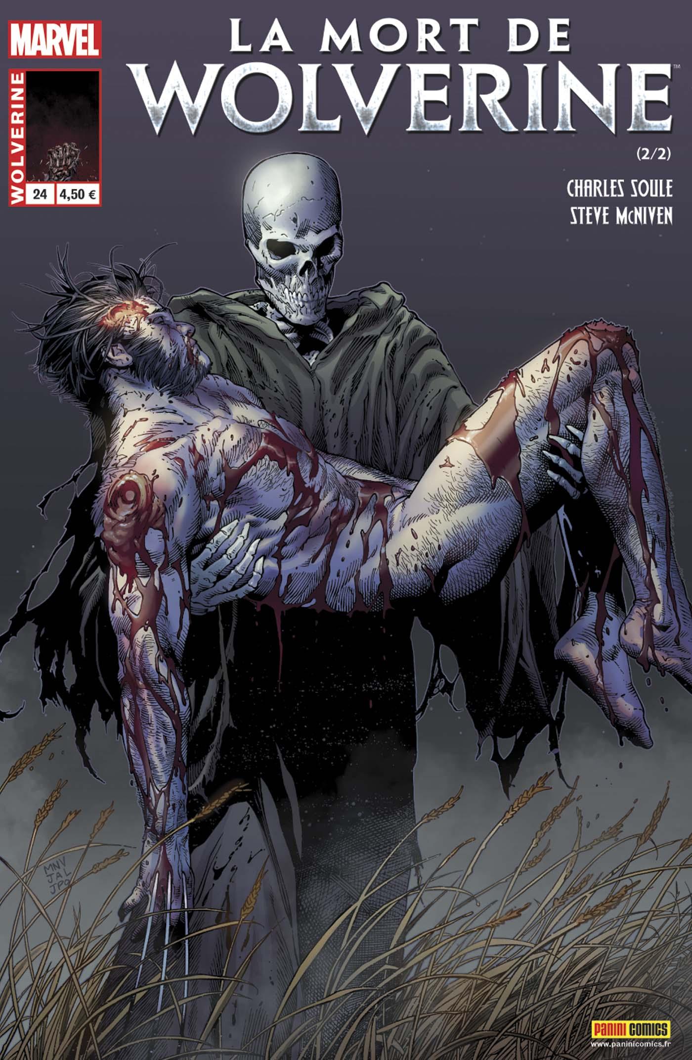 WOLVERINE 24 : LA MORT DE WOLVERINE 2 (sur 2)