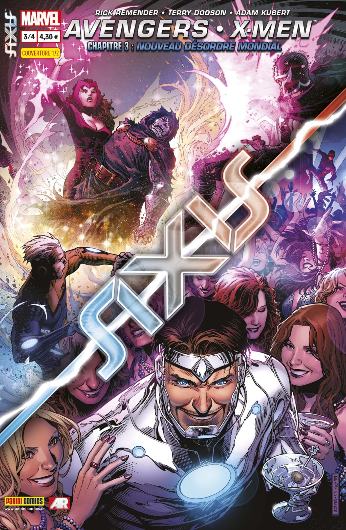 AVENGERS & X-MEN : AXIS 3 (sur 4, couv 1/2)